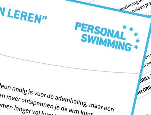 Hoe lees ik een Personal Swimming programma?