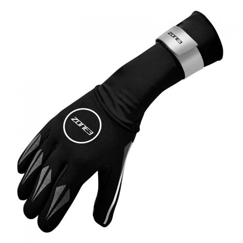 ZONE3 Neoprene Swim Gloves zilver